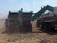 Custom Self-Propelled Two Bed Harvesters for Agricultural