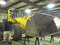 Front End Loader Bucket Repair