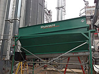High Capacity Grain Cleaner Installed