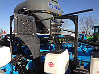 Monosem Planter Dry Fertilizer System Folding Manifold