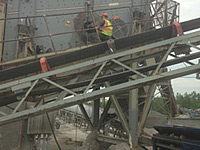 Stone Quarry Conveyor Repair