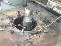 Stone Quarry Screen Shaft And Bearing Mount Repair